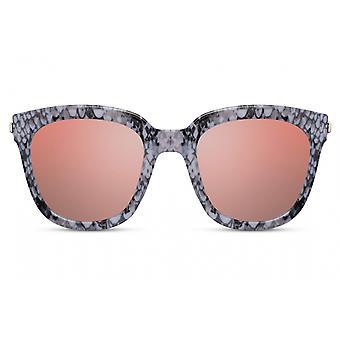 النظارات الشمسية المرأة بانتو كامل حافة كات. 3 رمادي / وردي