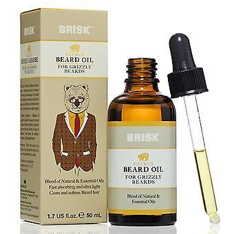 Brisk beard oil, citrus, 1.7 oz *