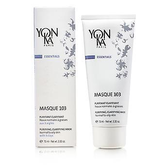 Essentials masque 103 renande & klargörande mask (normal till fet hud) 152984 75ml/3.3oz