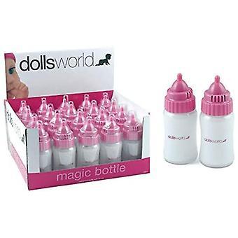 Poppen wereld magische fles met geluid