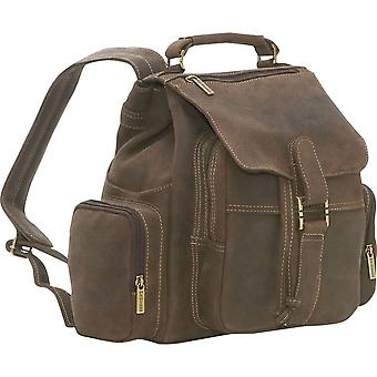 Multi Pocket Backpack - Ds-01-Choc