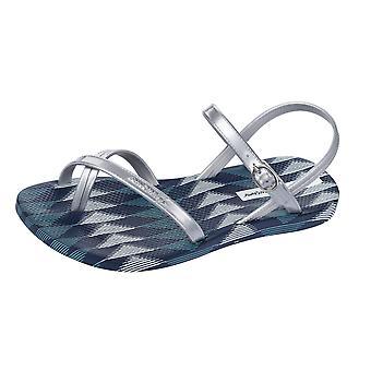 Ipanema Fiesta V Kids Flip Flops / Sandals - Silver