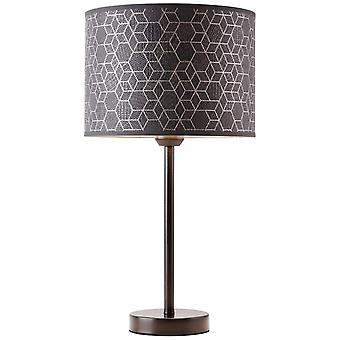 LUZ de mesa de galance brillante grandes luces interiores negras, lámparas de mesa, -decorativos ? 1x A60, E27, 40W, adecuado para lámparas normales