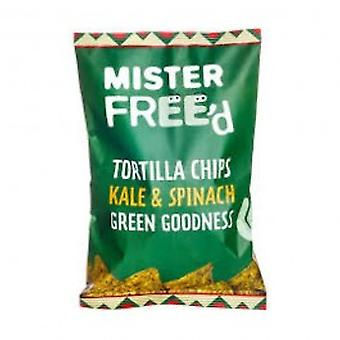 Mister Free'd - Tortilla Chips With Kale And Spinach 135g x 12