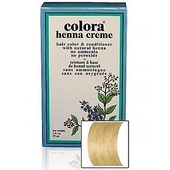 Colora Henna Creme - 100% Organic hair colour - Natural