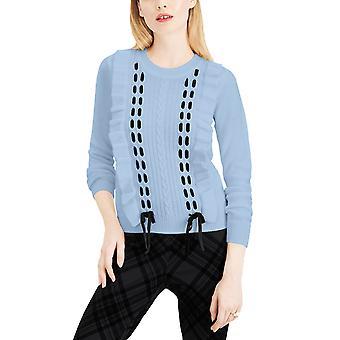 ميزون جول | الدانتيل كشكش pullover سترة