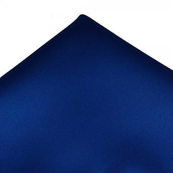 Solmiot Planet Plain Royal Blue Pocket Square Nenäliina