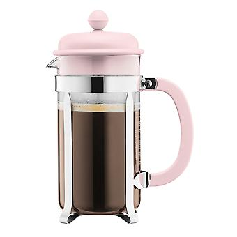 Bodum 8 Cup Cafetiere, Pastel Pink