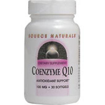 Source Naturals Coenzyme Q10, 100 mg, 90 Softgel