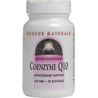Kilde Naturals Coenzym Q10, 100 mg, 90 Softgel