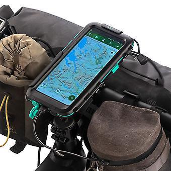 Hard waterproof case & bike handlebar mount kit samsung galaxy s9 / s9+