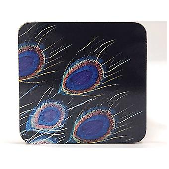 Home Living Coasters x 6 Peacock HH2423