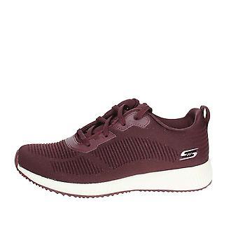 Skechers Bobs Squad Total Glam 32502BURG uniwersalne przez cały rok damskie buty