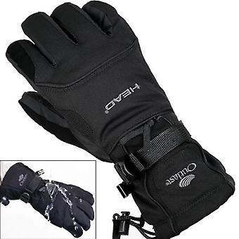 Men's Fleece Snowboard Guantes - Snowmobile Motorcycle Riding Guantes de Nieve de Invierno