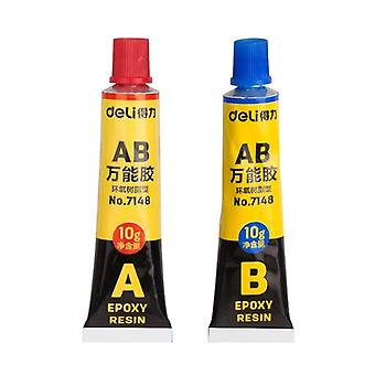 A+b Epoxy Resin, Super Liquid Glue, Glass Metal, Ceramic Plastic Wood,