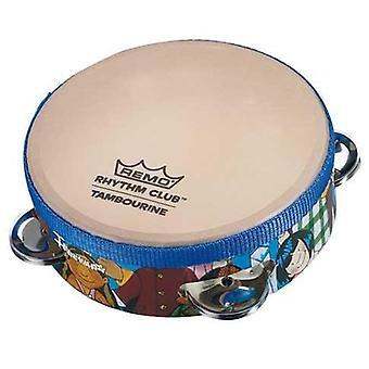 Remo 834045 6,5 x tambourin club rythmique de 1,75 pouce