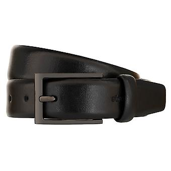 Strellson Belt Men's Belt Leather Belt Black 2297