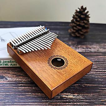 Kalimba Thumb Piano Board, Body Musical Instrument