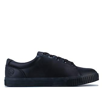 Women's Timberland Skyla Bay Leather Oxford Trainers in Black