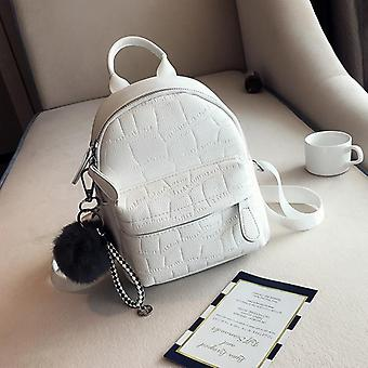 Mini Backpacks Women Pu Leather Cute Small Backpack Female Backpacks