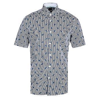BOSS Luka Short Sleeve Multi Stripe Shirt