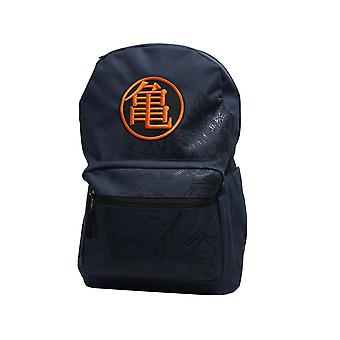Dragon Ball Z Kanji Goku Logo Navy Backpack