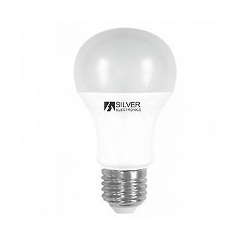 Spherical LED Light Bulb Silver Electronics 980527 E27 15W Warm light/5000K
