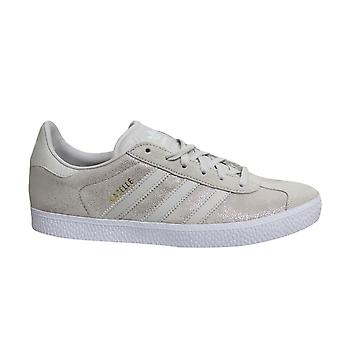 Adidas Originals Gazelle Kids Suede Leather Lace Up Juniors Trainers F34555