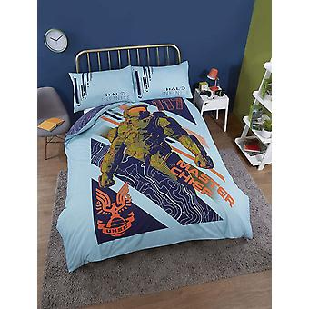 Halo Infinite 117 Master Chief Double Duvet Cover Set
