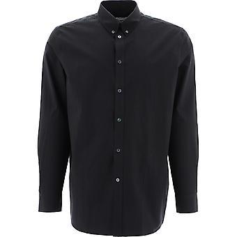 Givenchy Bm60nn1y8k001 Men's Black Cotton Shirt