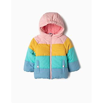Zippy colorat Puffer Coat