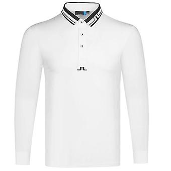 New Spring And Autumn Long Sleeve Golf T-shirt, Latest Outdoor Sports Men