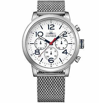 Tommy Hilfiger 1791233 Jake Multi-Function Vit Dial Män's Watch