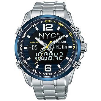 Mens Watch Pulsar PZ4003X1, Quartz, 44mm, 10ATM