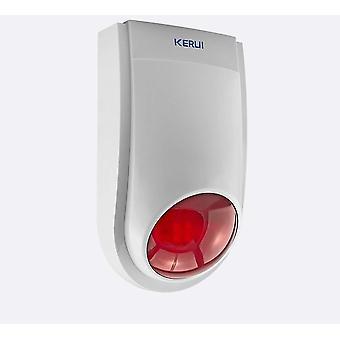 High Quality Wireless Flashing Alarm Siren Sensor