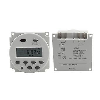 Lcd Timer Switch 12v 24v 110v 220v Time Relay Street Lamp Billboard Power