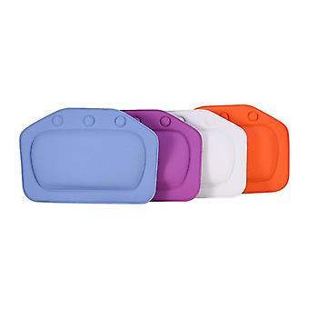 Bathtub Pillow Headrest Waterproof Pvc Cushion Head Neck Rest With Suction Cups