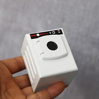 Miniatűr görgős mosógép (fehér)