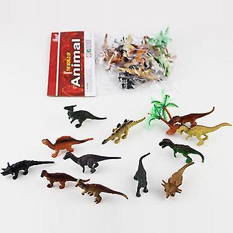 Simulaatio Dinosaurukset Marine Mini Animals Wildlife Malli Eläimet Maailman malli