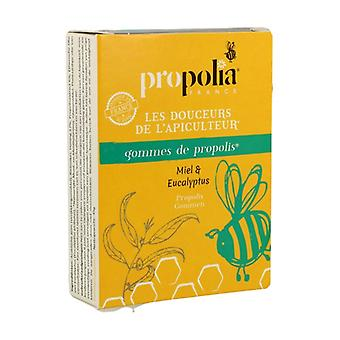 Honey & eucalyptus propolis gums 45 g (Orange)