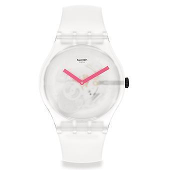 Swatch Suow172 Snow Blur White Silicone Watch