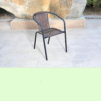 Outdoor Patio Open Air Coffee Table And Chair