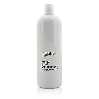 Label.M Honey & Oat Conditioner (Lightweight Repair For Dry, Dehydrated Hair) 1000ml/33.8oz