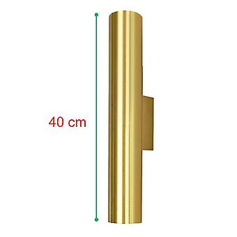 מנורות קיר הובילו מקורה ליד מיטת המלון 12w קיר זהוב אור חדר מדרגות קיר sconces מנורת קיר מודרנית דקורטיבית זהובה
