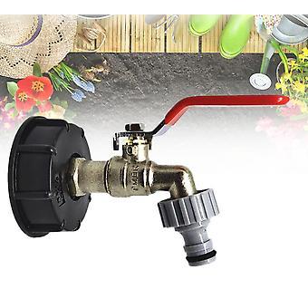 "Ibc Tote Tank Food Grade Drain Adapter 1/2"" Garden Hose Faucet Water Hose"