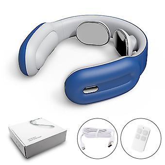 Smart Electric Neck And Shoulder Massager Low Frequency Magnetic Sp