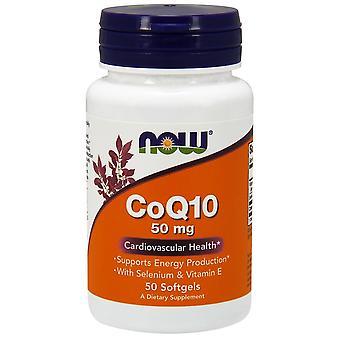 Maintenant Foods CoQ10 50 mg Softgels