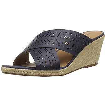 Heldig merkevare kvinners Keela åpen tå Casual svært høye espadrill sandaler