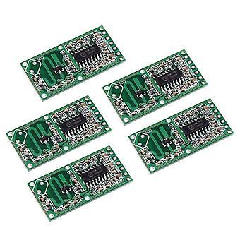 5pcs Magnetron Radar Sensor Smart Switch Module - Menselijk Lichaam Inductie Module