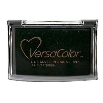 Almohadillas de tinta pigmentaria Tsukineko Versacolor - Evergreen